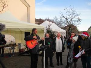 Unplugged auf dem Weihnachtsmarkt Aachen Nord am 28.11.2015
